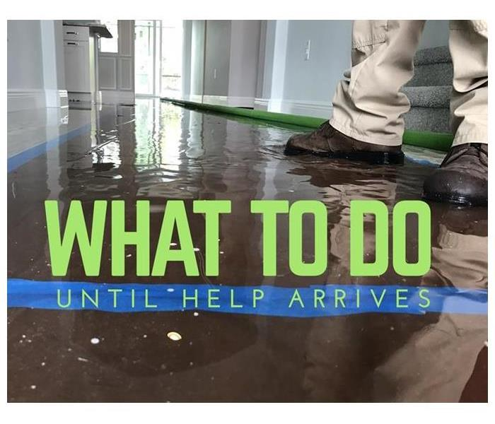 Why SERVPRO What To Do Until Help Arrives: Water Damage